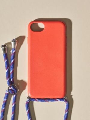 24 Colours Handykette Biologisch abbaubar rot iPhone 6/7/8