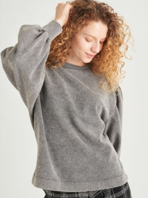24 Colours Sweatshirt grey