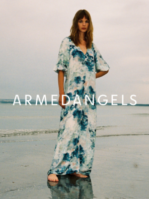 Armedangels Maxikleid Tyraa watercolors