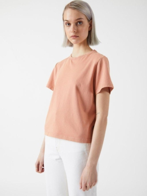 Dr.Denim Tasya T-Shirt washed terracotta