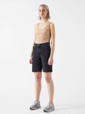 Dr.Denim Shorts Echo charcoal black