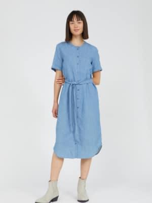 Armedangels Kleid Maare foggy blue