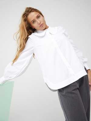mbyM blouse Torill white