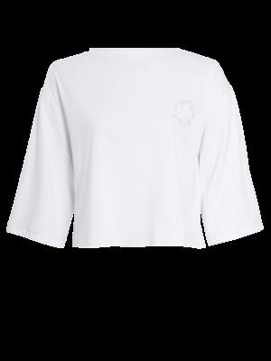 Native Youth 3/4 long sleeve shirt white