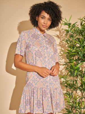 Native Youth Kleid paisley