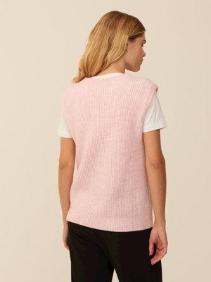mbyM knitted vest Harriette pink