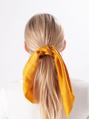 24 Colours Scrunchie yellow