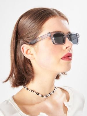 24 colors transparent sunglasses