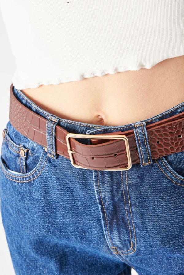 24 Colours Belt brown