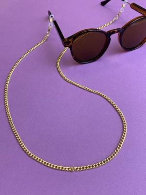 Sonnenbrillen Kette gold
