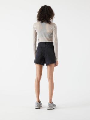 Dr.Denim Shorts Nora charcoal black
