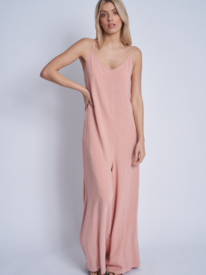 Native Youth Jumpsuit Rosewood pink