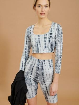 24 colors long sleeve shirt batik