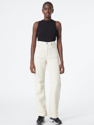 Dr. Denim cord trousers Echo off white