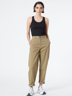 Dr.Denim Bella Paperbag Jeans olive