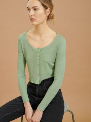 24 Colours Cardigan grün