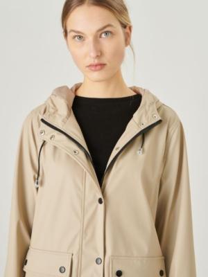 24 colors rain jacket beige