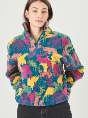 24 Colours Fleecepulli multi